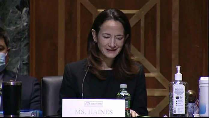 WATCH: Avril Haines' full opening statement at Senate confirmation hearing