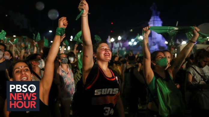 What Argentina's vote to legalize abortion means for the region