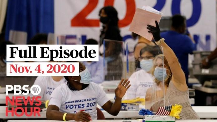PBS NewsHour West live episode, Nov. 4, 2020