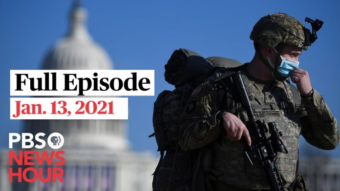PBS NewsHour full episode, Jan. 13, 2021
