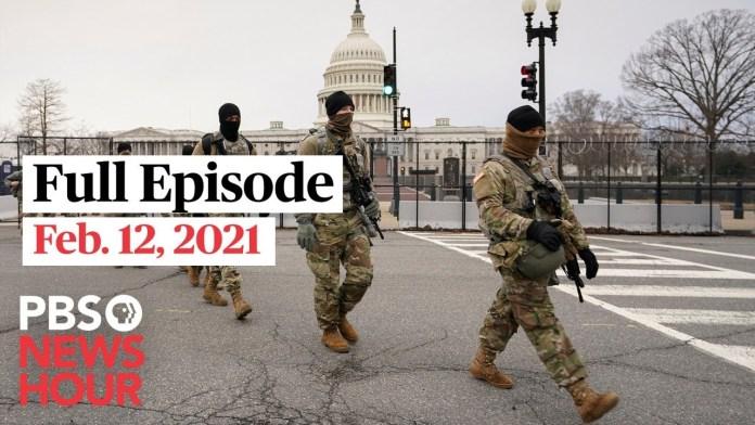 PBS NewsHour West live episode, Feb. 12, 2021