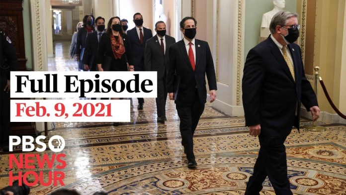 PBS NewsHour West live episode, Feb. 9, 2021