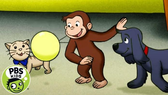 Curious George | George Enjoys Spring | PBS KIDS