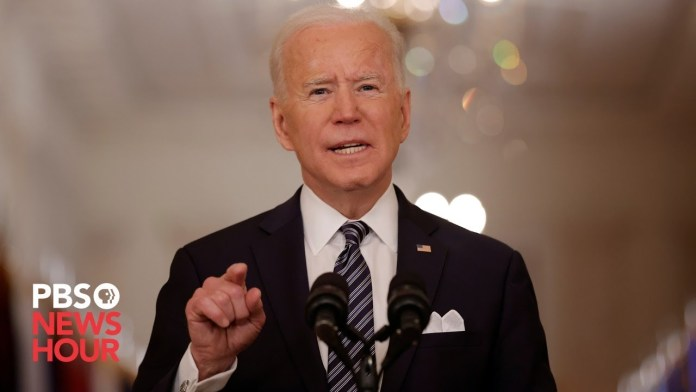 WATCH LIVE: Biden holds first presidential news conference