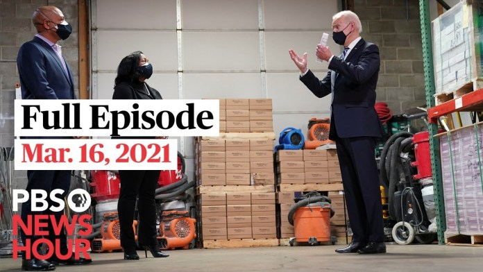 PBS NewsHour West live episode, Mar. 16, 2021