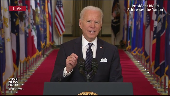 WATCH: Biden says these 5 steps can help us get to 'normal' by Fourth of July