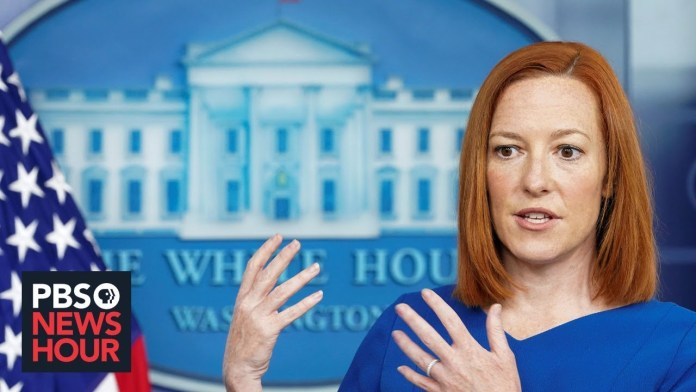 WATCH LIVE: Psaki holds White House news briefing with Energy Secretary Granholm