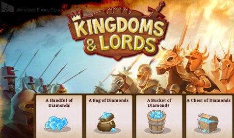 Kingdoms & Lords In-App Purchase Guide
