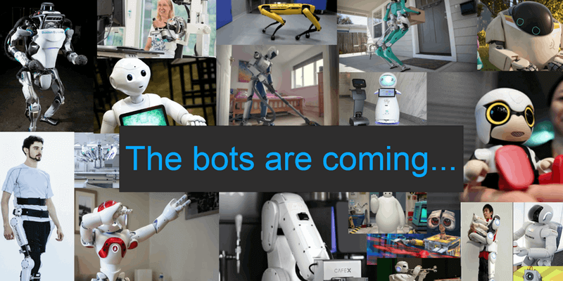 Are you ready for robots?
