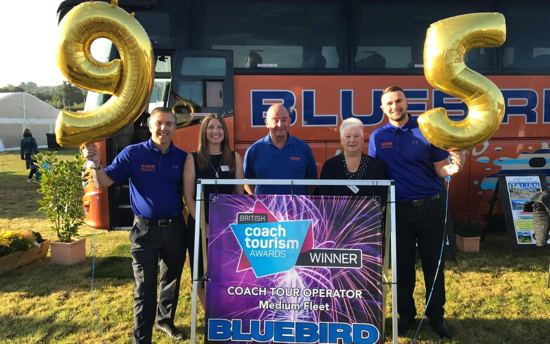 Bluebird Coaches celebrate 95 years business