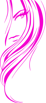 girl hair style pink - people female