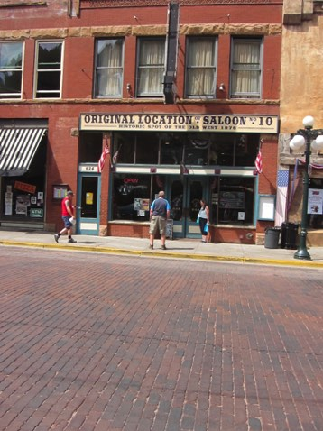 Where Wild Bill Hickok was shot while playing poker  Aces and Eights