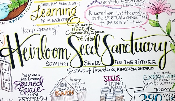 Sacred, Secular, Indigenous Women Gather  to Steward Seed Inheritance