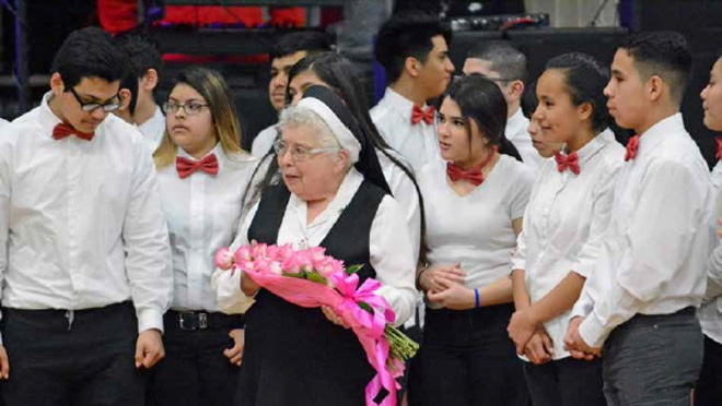 Sister Leaves Hispanic Ministry, Returns to Chile: Three years as a missionary and evangelist stretched into 26
