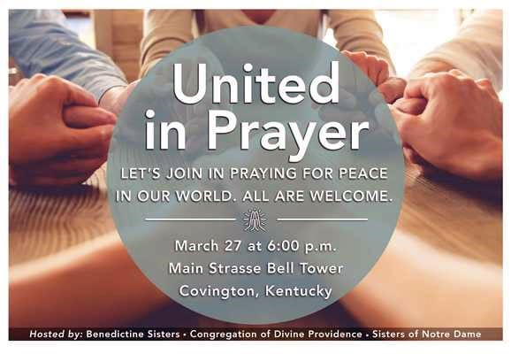 United in Prayer Gives Witness to Sister's Unity