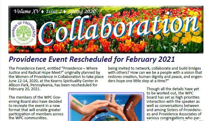 WPC Spring 2020 Newsletter