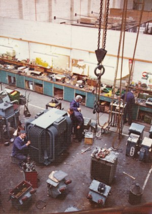 SWEHS 11.0.061.jpg - Date 1984 - Haven Road SWEB engineering depot. Devon, Exeter .