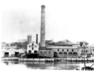 SWEHS 15.0.034.jpg - Date c1902 - Devonport Corporation Electricity Works, Newport Street generating station. Commenced supply 1902 direct current generation. Closed 1929 and used as a substation for converting ac from Prince Rock into direct current for lighting. Devon, Devonport, Stonehouse .