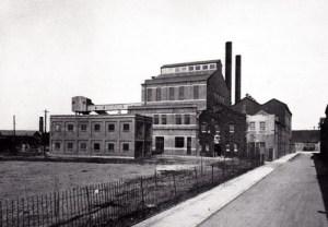 SWEHS 18.2.030.jpg - Date 1935 - `Newton Abbot generating station outdoor. Devon, Newton Abbot .