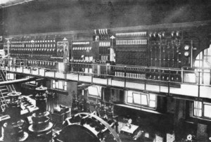 SWEHS 3.1.021.jpg - Date 1902 - Central Electricity Lighting Station. Bristol, Temple Back Engine room and switchboards..
