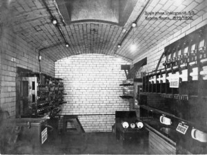 SWEHS 3.1.040.jpg - Date 1899/1900 - Single phase underground substation, Victoria Rooms. Bristol, Clifton .
