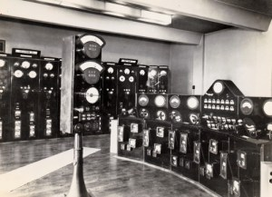 SWEHS 3.1.067.jpg - Date 1937 - Control room Cairns Road Distribution Substation. Bristol, Westbury Park .