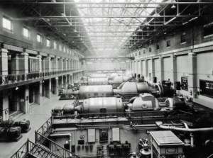 SWEHS 3.2.092.jpg - Date 16/02/1948 - Portishead Generating Station generating sets 2, 3, 4 & 5. North Somerset, Portishead .