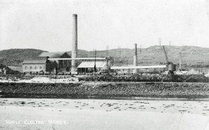 SWEHS 7.1.131.jpg - Date 1911 - 'Hayle Electric Works' soon after completion of stage 1. Cornwall, Hayle .