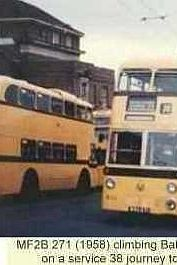 Trolleybuses in Bournemouth - MF2B 271