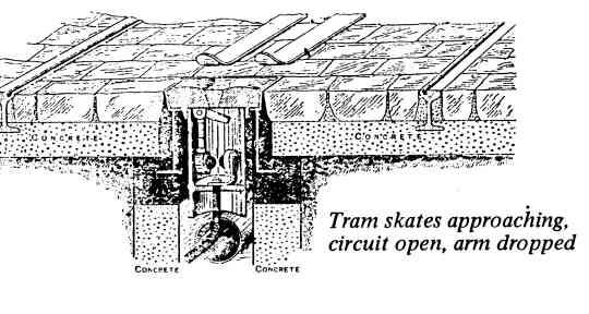Tram Approaching