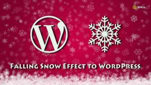 How to Add Falling Snow Effect to your WordPress Website