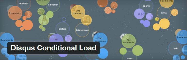 Disqus Conditional Load plugin