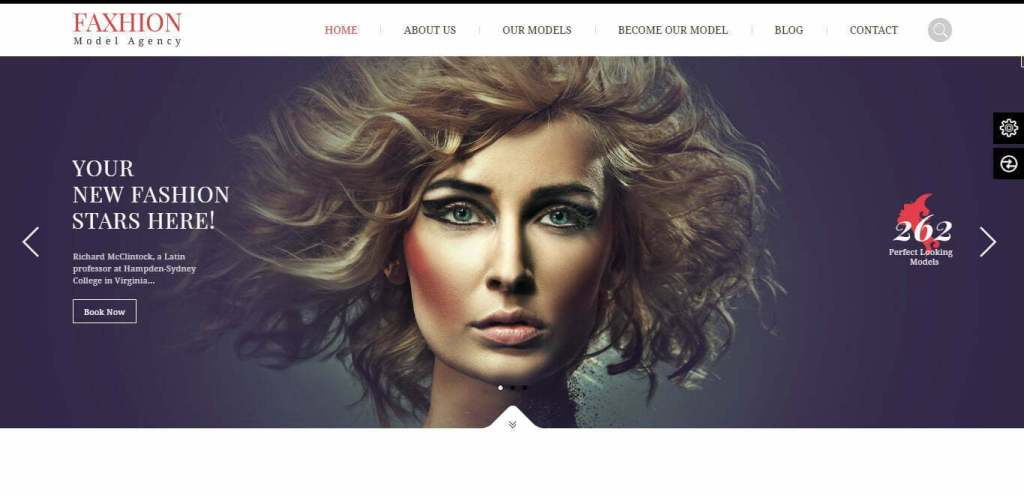 Faxhion wordpress theme
