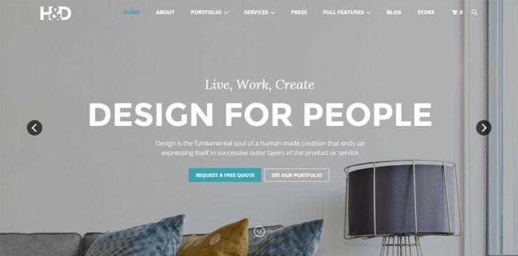 Interior Design: Best Interior Design Website. Best Interior Design Architecture Themes For Wordpress Wallpaper Hd Website Smartphone Pics
