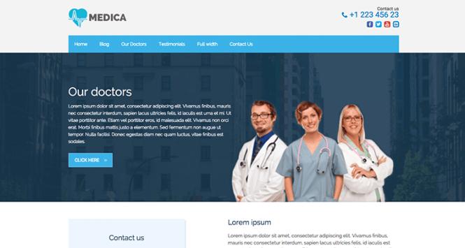 Medica PRO Santé et médecine Thème WordPress