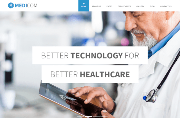 Medicom Health & Medical Tema de WordPress
