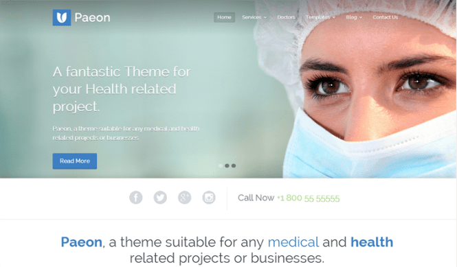Paeon Health & Medical Thème WordPress