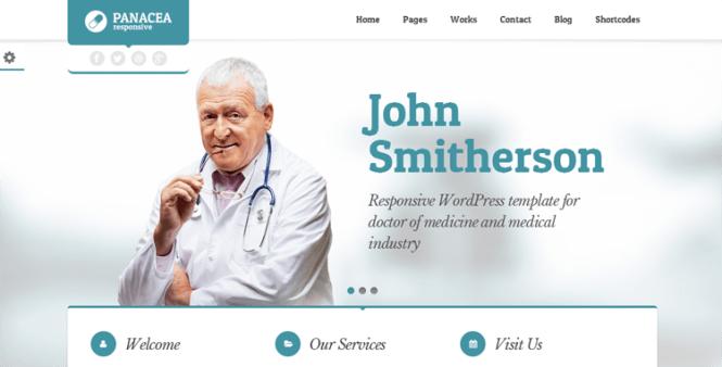 Panacea Health & Medical Thème WordPress