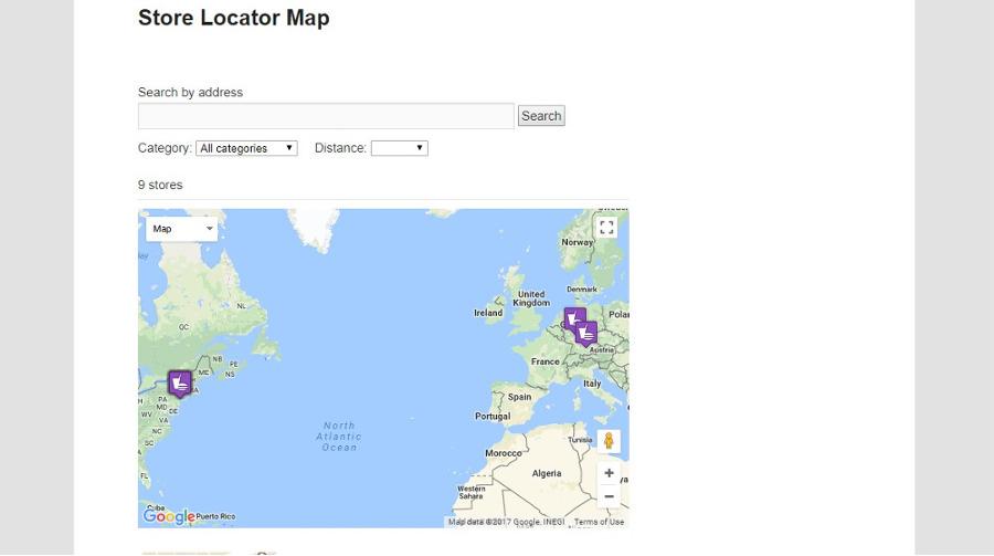 Advanced Store Locator