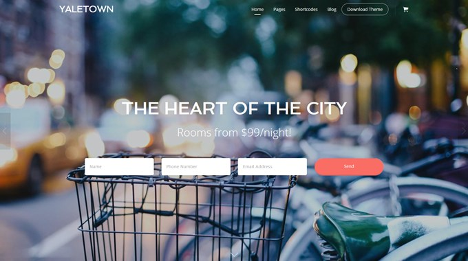 Bellevue WordPress Theme