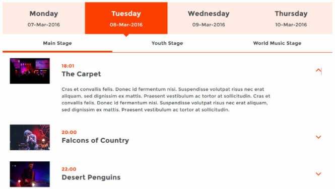 Planificateur d'événements réactif pour la capture d'écran WordPress