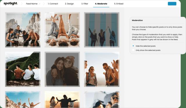 Spotlight Instagram Feeds Moderation