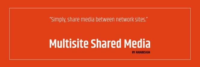 Médias partagés multisites WordPress