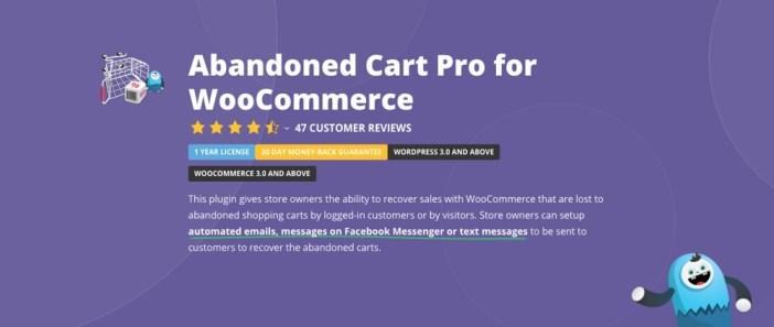 Abandonado Carrito Pro para WordPress