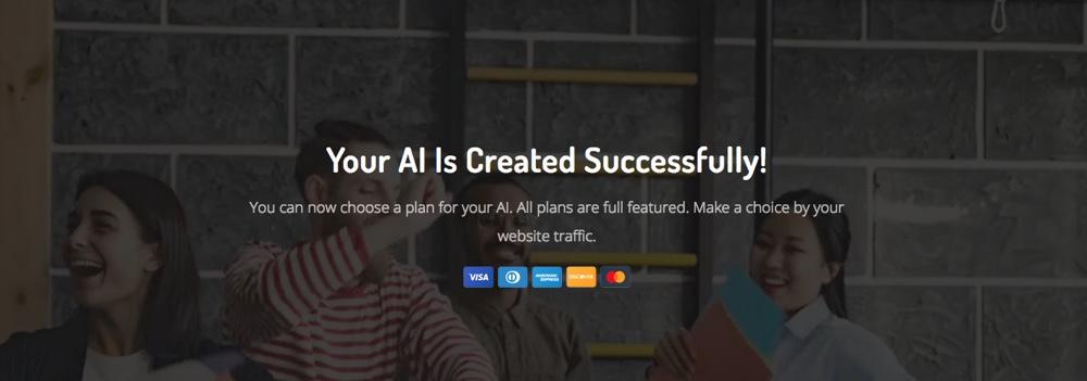 4. Acobot Account Created