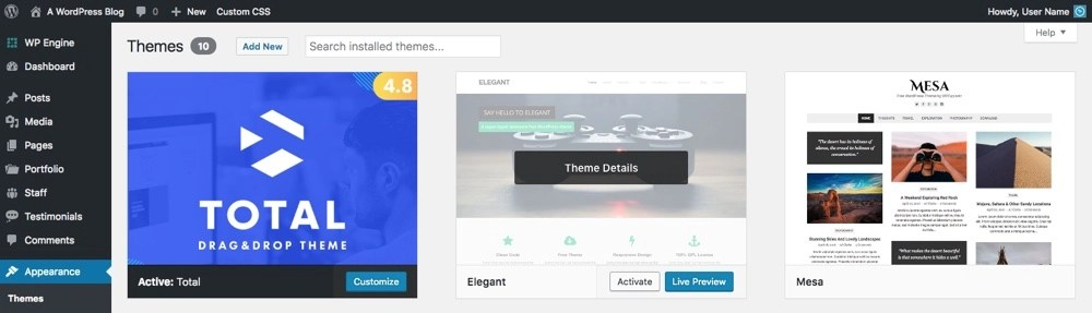Migrate to New Theme Safely