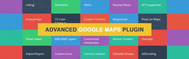Meilleurs plugins de cartographie: Google Maps avancé
