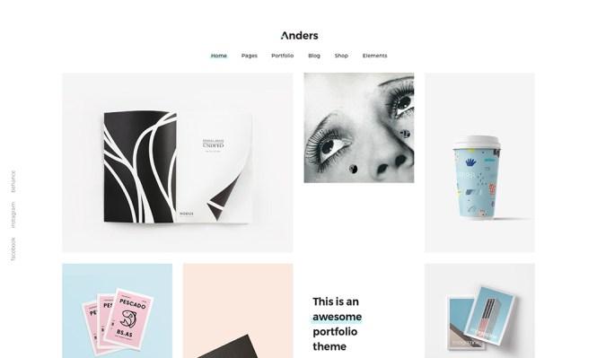 Thème de portefeuille multi-concept Anders Clean