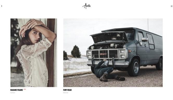 Andra - Portefeuille de photographie WordPress Ajax Theme