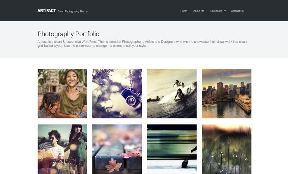 Артефакт WordPress Theme